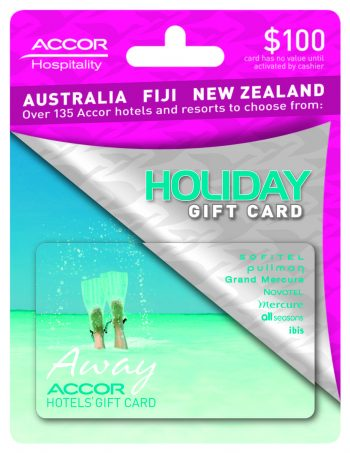 Take the hassle out of gift shopping  with an AccorHotels Gift Card