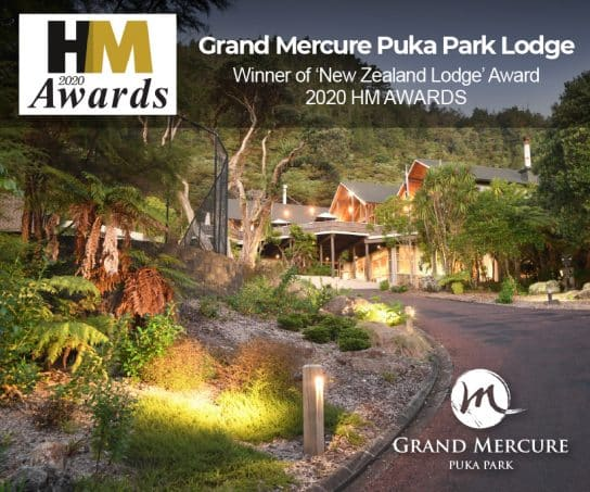 Grand Mercure Puka Park Lodge wins at HM Industry Awards